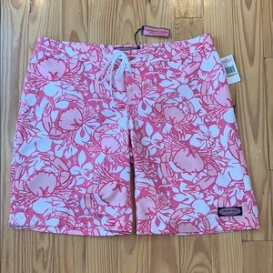 NWT Vineyard Vines Pink Surf Shorts